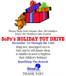 Holiday Toy Drive 2015
