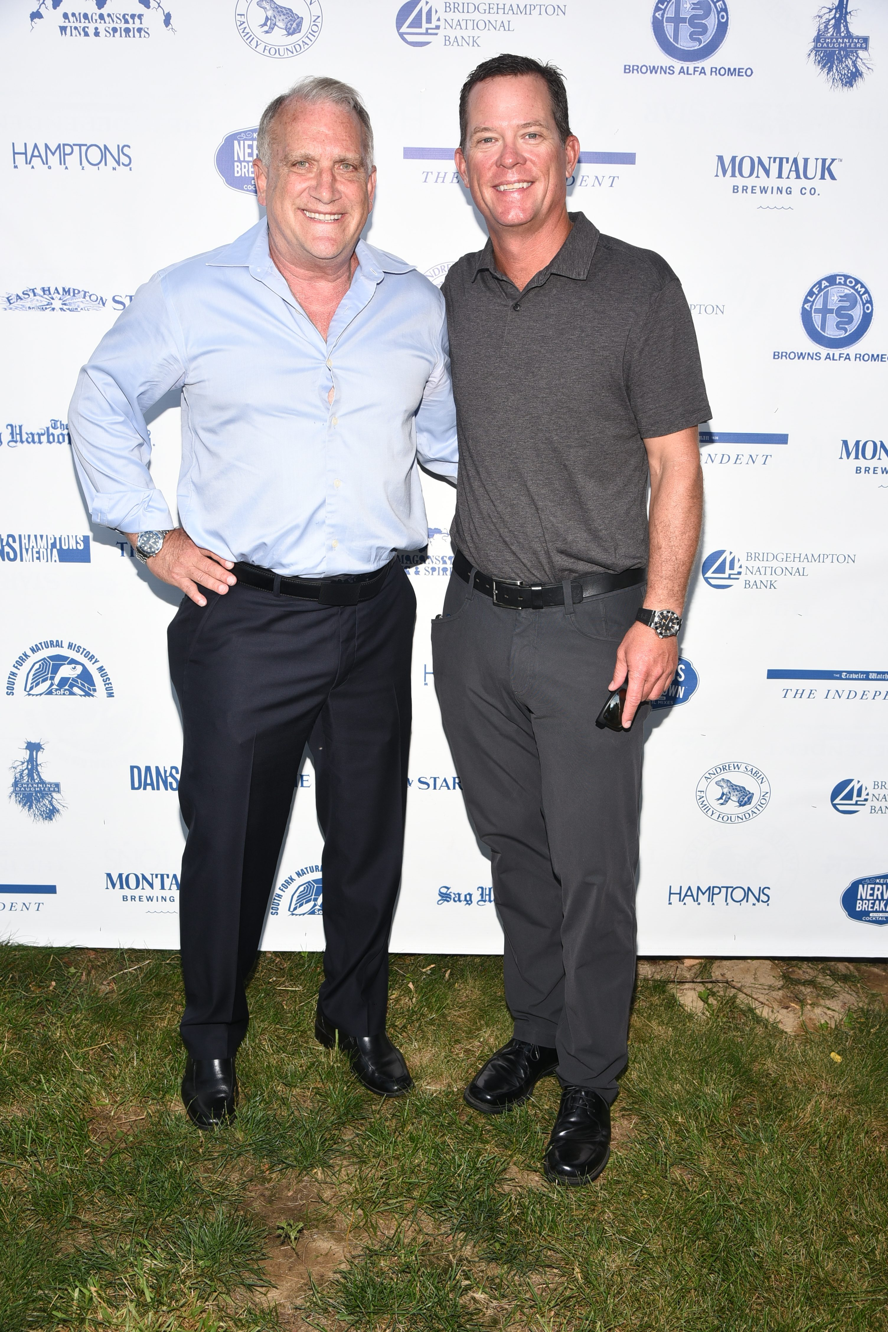 3 – Honorees Alan Rabinowitz and Chris Fischer were honored at the 28th.Annual SOFO Summer Gala at the South Fork Natural History Museum in Bridgehampton on Saturday, July 8, 2017. photos by Rob