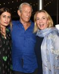 6 – Nejma Beard, Peter Beard, and Susan Rockefeller attend the 28th.Annual SOFO Summer Gala at the South Fork Natural History Museum in Bridgehampton on Saturday, July 8, 2017. photo by Rob Rich-